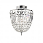 Kamea Chrome Ceiling Light 15003-17