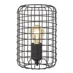 Busby Matt Black Small Table Lamp FH1427