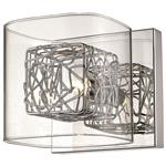 Belin Polished Chrome/Mesh Single Wall Light