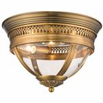 Bellaria Half Oval Semi Flush Ceiling Fitting