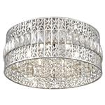 Dashielle Polished Chrome And Crystal 6 Light 041CH6F