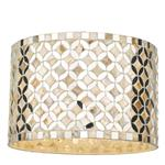 Acquila Natural Shell And Mirror Non Electric Pendant ACQ6568