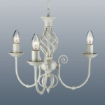 Classic 3 Arm Cream Ceiling Fitting CLA3CR